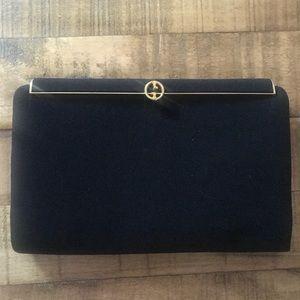 Vintage Nylon Black Gucci Wallet